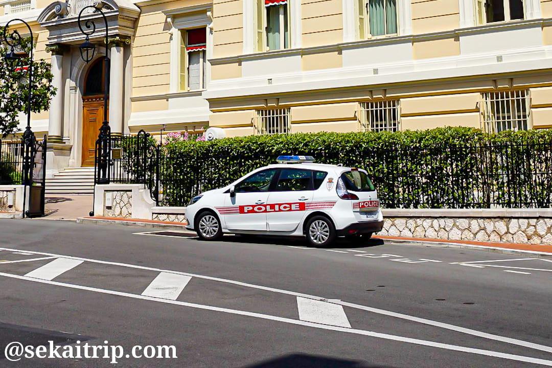 モナコの警察車両