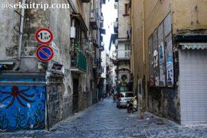ナポリのフォルチェッラ地区(Forcella)
