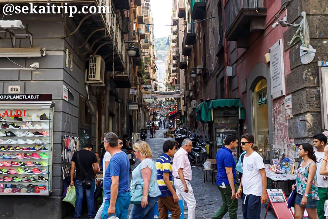 ナポリのスペイン地区(Quartieri Spagnoli)