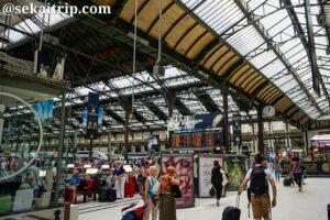 フランス・パリのリヨン駅(Paris Gare de Lyon)構内