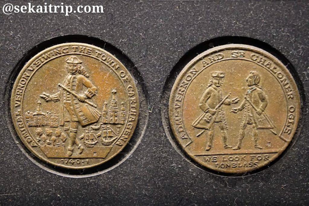 ボゴタの貨幣博物館の展示物(1)