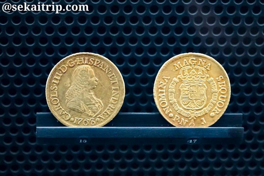 ボゴタの貨幣博物館の展示物(2)