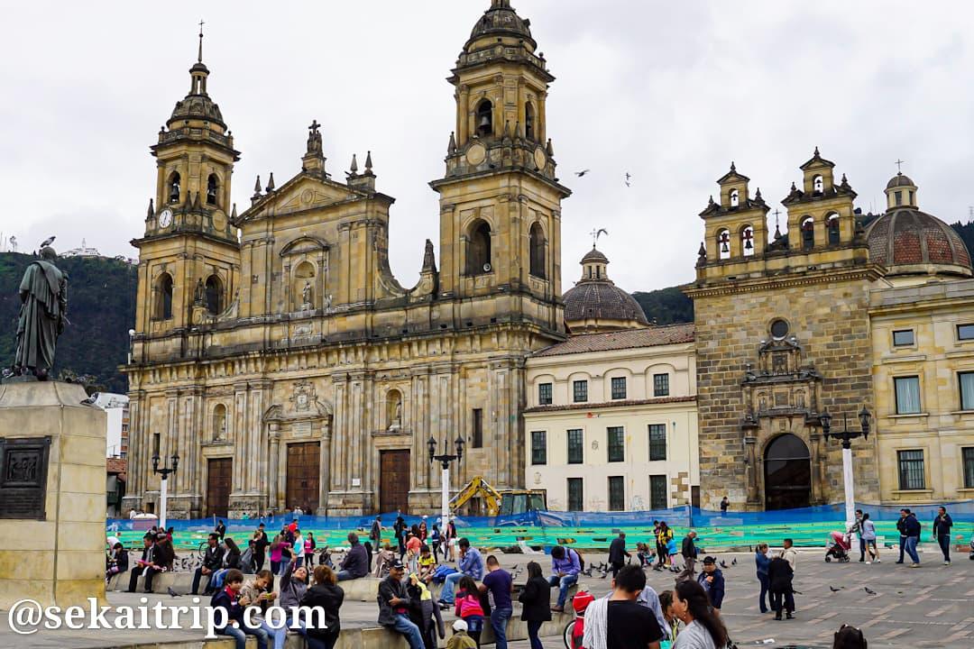 コロンビア・ボゴタのカテドラル(Catedral Primada de Colombia)