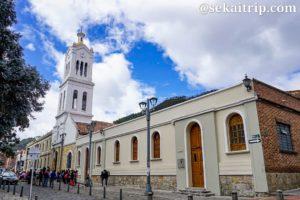 コロンビア・ボゴタのウサケンのサンタ・バーバラ教会(Iglesia Santa Bárbara de Usaquén)