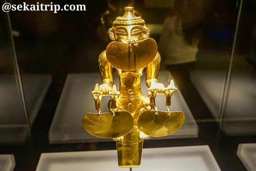 黄金博物館(Museo del Oro)の金細工