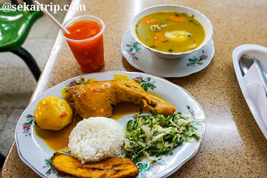 ボゴタで食べたコロンビア料理