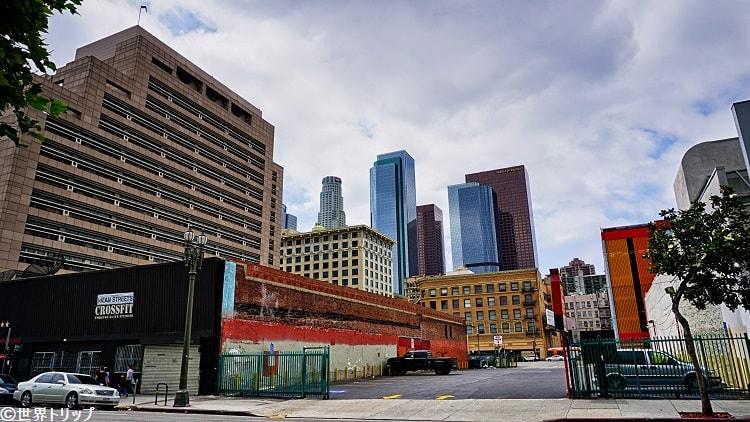 ダウンタウンLAの高層ビル群