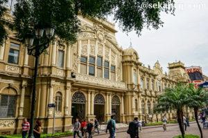 コスタリカ・サンホセの中央郵便局