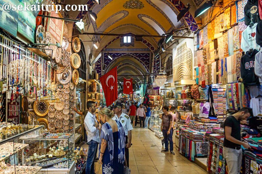トルコ・イスタンブールのグランドバザール