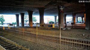 アメリカ・ロサンゼルスのウィローブルック駅