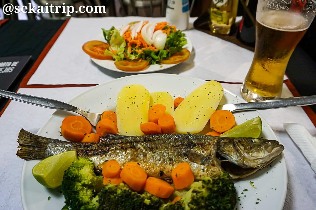 ポルトガル・リスボンで食べた夕食