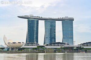シンガポールのマリーナ・ベイ・サンズ