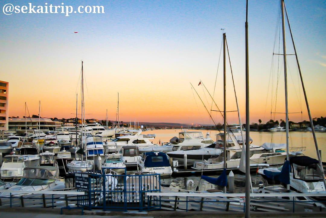 ロサンゼルス近郊のニューポートビーチ