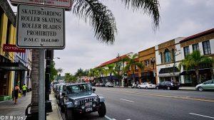 ロサンゼルス・オールドパサデナの街並み