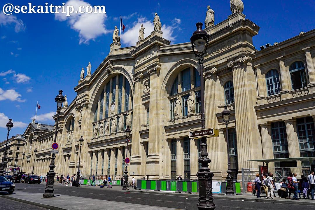 パリの北駅(Gare du Nord)