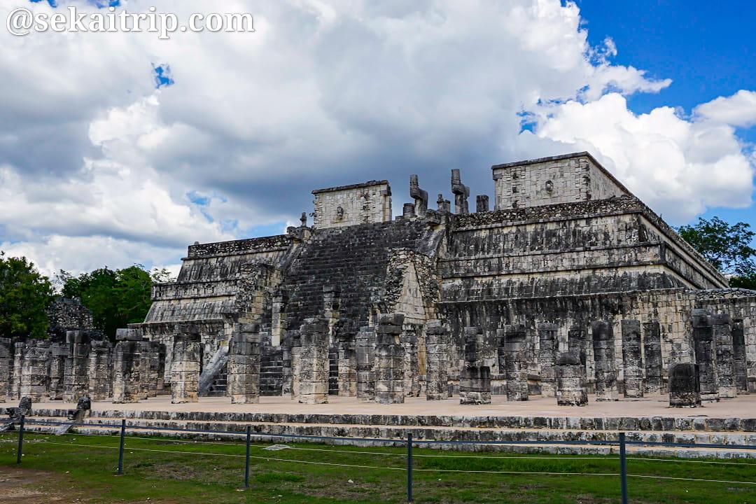 チチェン・イツァ遺跡(Chichen Itza)の戦士の神殿
