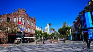 ロサンゼルス・サンタモニカの街並み