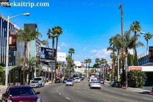 ロサンゼルスのサンセット・ブルバード