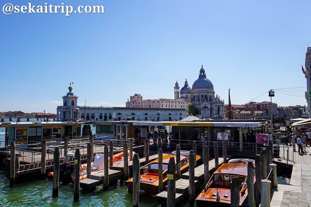 ベネチアの水上バス、サン・マルコ駅