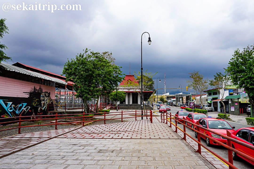 コスタリカ・サンホセのアトランティコ駅(Estación de Ferrocarril al Atlántico)