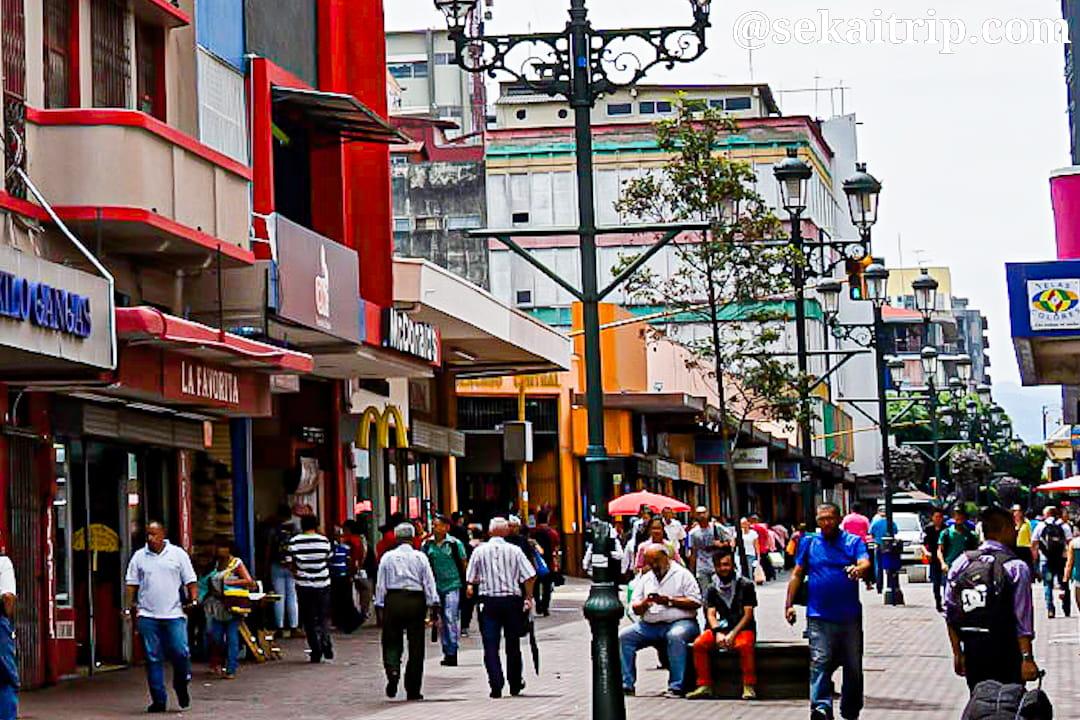 コスタリカ・サンホセのセントラル市場(Mercado Central)周辺
