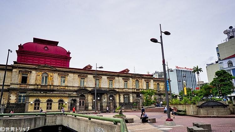 コスタリカ・サンホセの文化広場(黄金博物館付近)