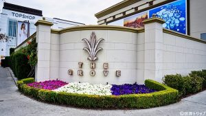 ロサンゼルスにあるThe Grove(入口)