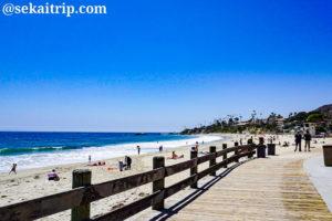 カリフォルニア・オレンジカウンティのラグナビーチ