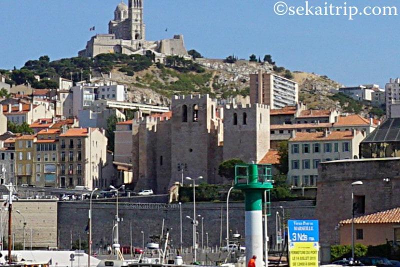 マルセイユのサン・ヴィクトール修道院(Abbaye Saint-Victor de Marseille)