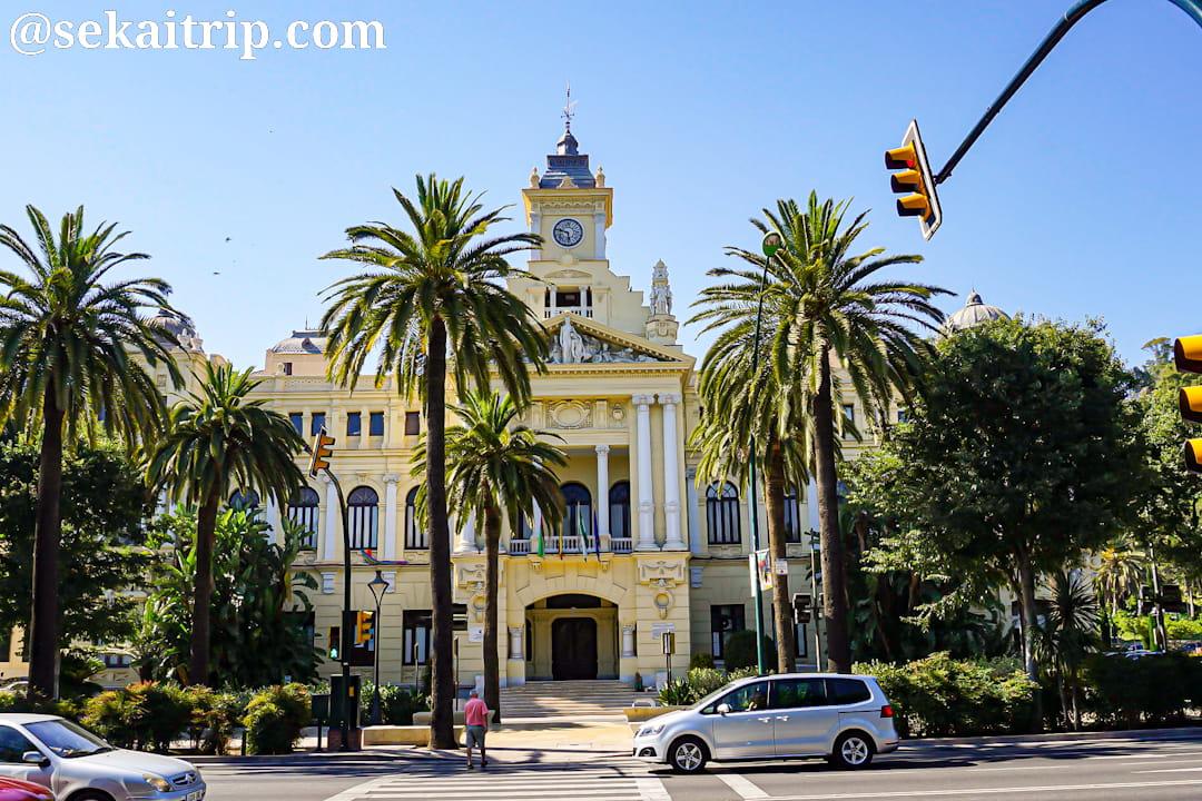 スペインのマラガ市庁舎(Ayuntamiento de Malaga)