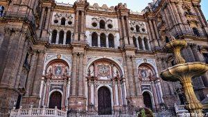 スペインのマラガ大聖堂(Catedral de la Encarnacion de Malaga)