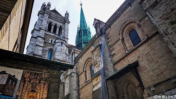 サン・ピエール大聖堂(Cathédrale Saint-Pierre de Genève)の塔