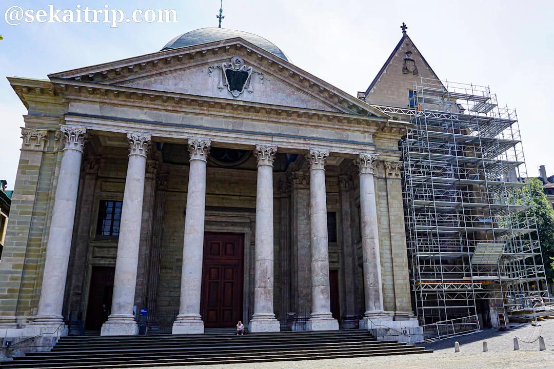 ジュネーブのサン・ピエール大聖堂(Cathédrale Saint-Pierre de Genève)