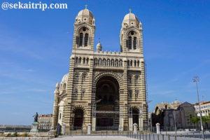 マルセイユのマルセイユ大聖堂(Cathédrale Sainte-Marie-Majeure de Marseille)