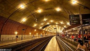 モナコのモンテカルロ駅(Gare de Monaco)