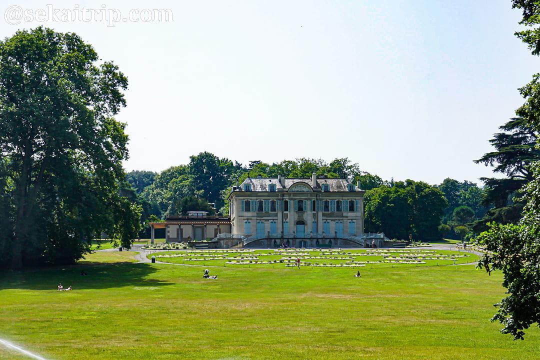 ジュネーブのグランジュ公園(Parc de la Grange)