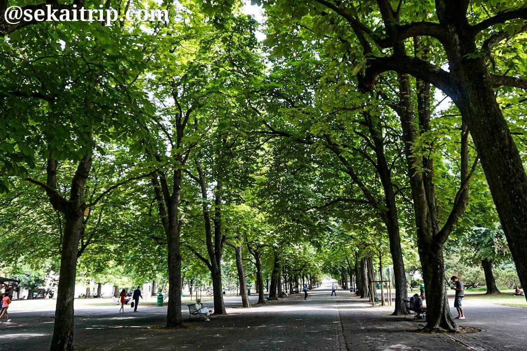 ジュネーブのバスチョン公園(Parc des Bastions)
