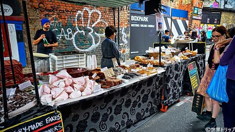 ロンドンのブリック・レーン・マーケット(Brick Lane Market)