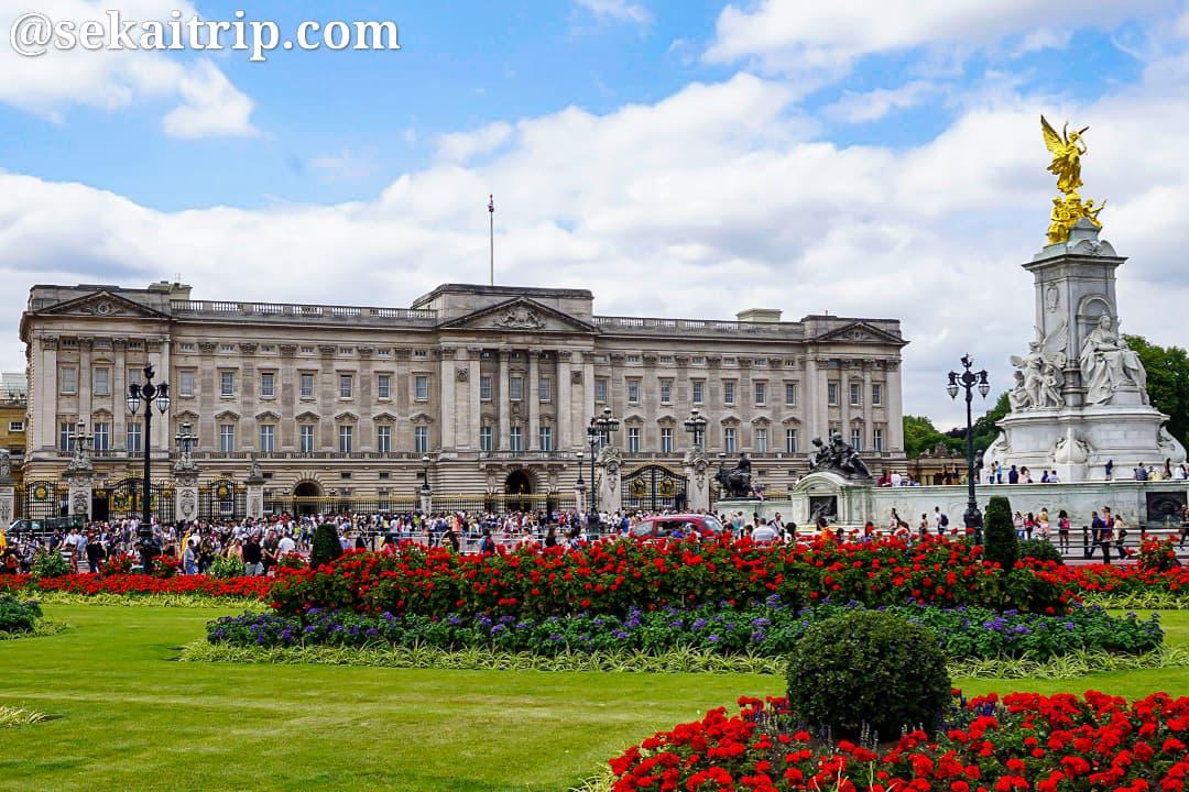 ロンドンのバッキンガム宮殿(Buckingham Palace)