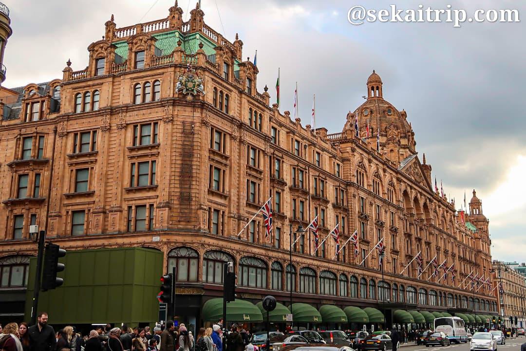 ロンドンのおすすめデパート6選!最大の見所は名門「ハロッズ」