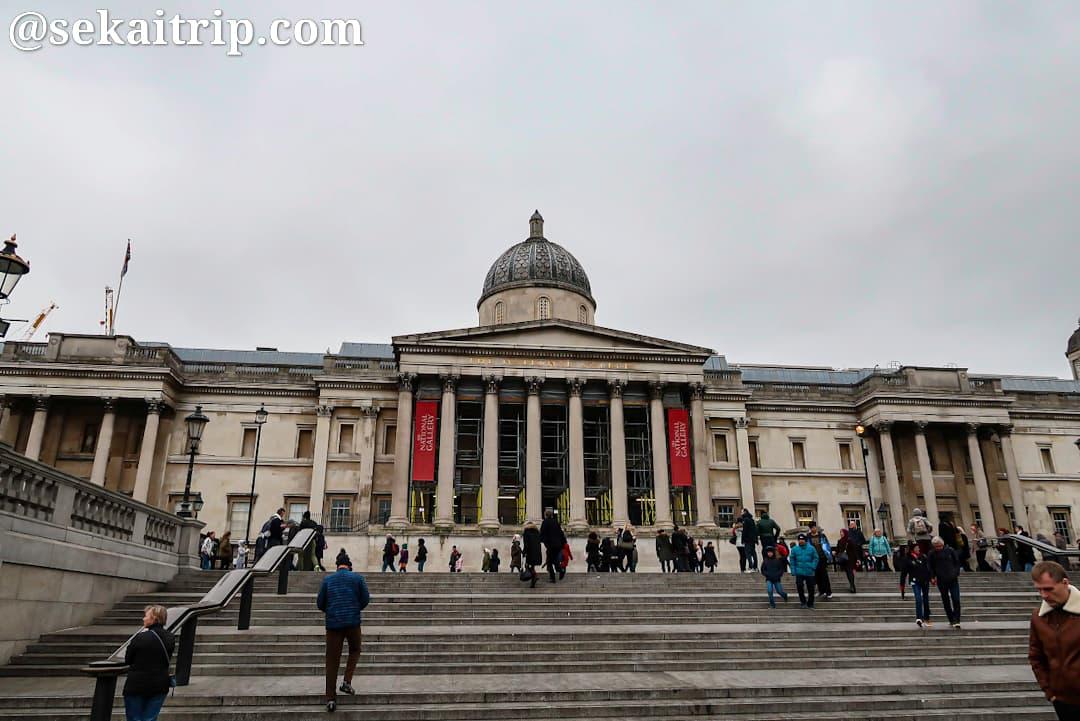 ロンドンのナショナル・ギャラリー(The National Gallery)