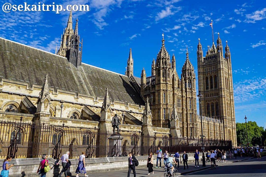 ロンドンのウェストミンスター宮殿(The Palace of Westminster)