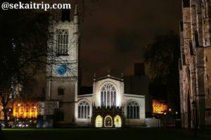ロンドンの聖マーガレット教会(St Margaret's Church)