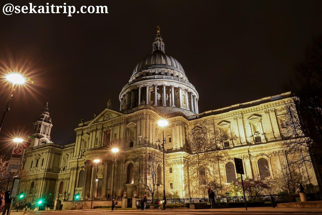 ロンドンのセント・ポール大聖堂(St. Paul's Cathedral)