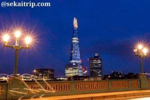 ロンドンのザ・シャード(The Shard)