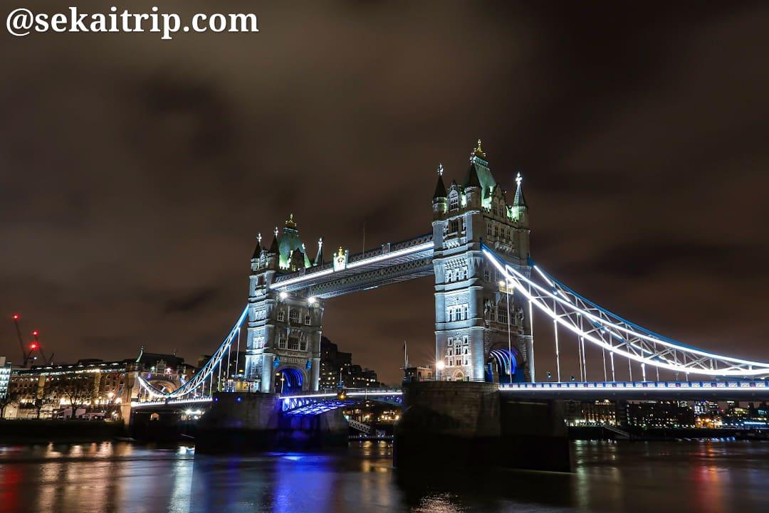 ロンドンのタワー・ブリッジ(Tower Bridge)