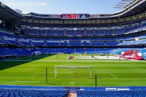 エスタディオ・サンティアゴ・ベルナベウ(Estadio Santiago Bernabeu)のピッチ