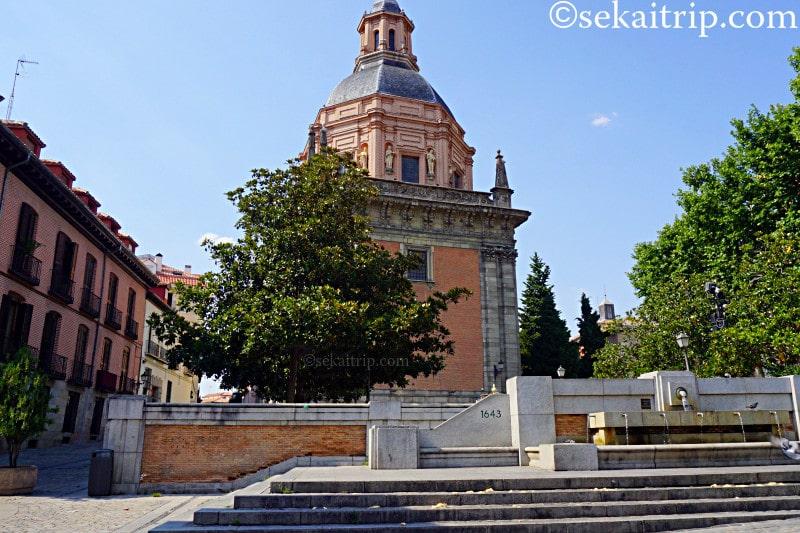 マドリードのサン・アンドレス教会(Iglesia de San Andres)