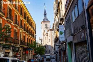 マドリードのサン・ヒネス教会(Iglesia de San Gines de Arles)