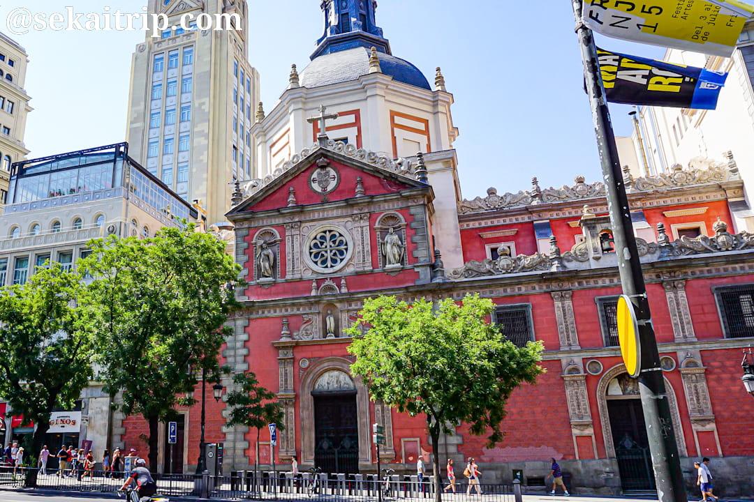 マドリードのラス・カラトラバス教会(Iglesia de las Calatravas)
